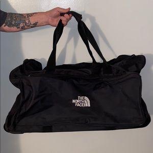 NorthFace suitcase Northface duffle travel bag